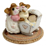Wee Forest Folk M-69 Beddy-Bye Mousy - Product Image