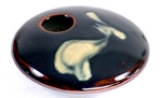 Ikebana- Black Zen Mini Round - Product Image
