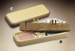 Game Box Cribbage Board - Product Image