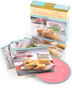 Music Cooks:  Invitation to Tea - Light, Stylish Dishes for Tea - Product Image