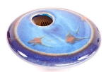 Ikebana- Blue Zen Mini Round - Product Image
