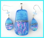 Periwinkle Dichroic Set - Product Image