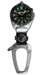Dakota Big Face Watch Clip (Black) - Product Image