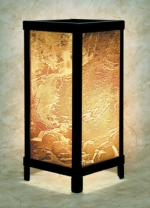 The Waterfall Lithophane Lamp - Product Image