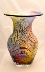 Jablonski Lead Crystal Flat Top Vase - Product Image