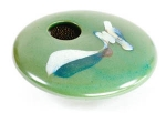 Ikebana- Green Wave Mini Round - Product Image