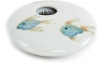 Ikebana- Ivory Fish Mini Round - Product Image