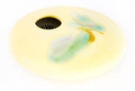 Ikebana - Yellow Wave Mini Round - Product Image