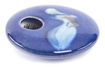 Ikebana- Blue Wave Mini Round - Product Image