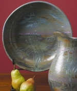 Bennington Family Reunion Pasta Bowl With Equinox Glaze - Product Image