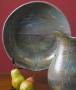 Bennington Family Reunion Pasta Bowl With Equinox Glaze - Product Image
