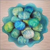 Felted Soaps Made with Pure Olive Oil - Product Image