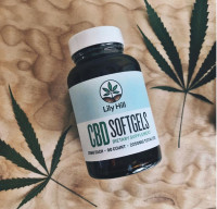 Full-Spectrum Organic CBD SoftGels - Product Image