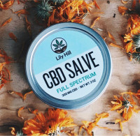 Full-Spectrum Organic 300mg CBD Salve by Lily Hill - Product Image